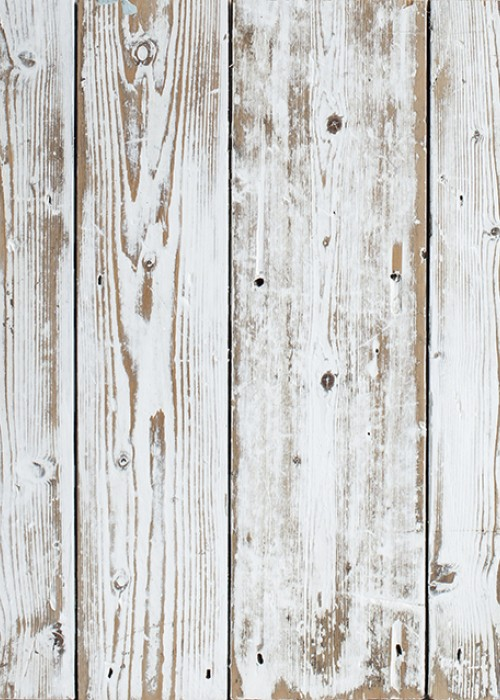 Salvaged Shabby Chic Painted Pine Boards