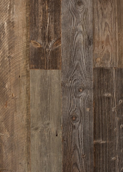 Reclaimed Natural Grey Pine Wall Cladding