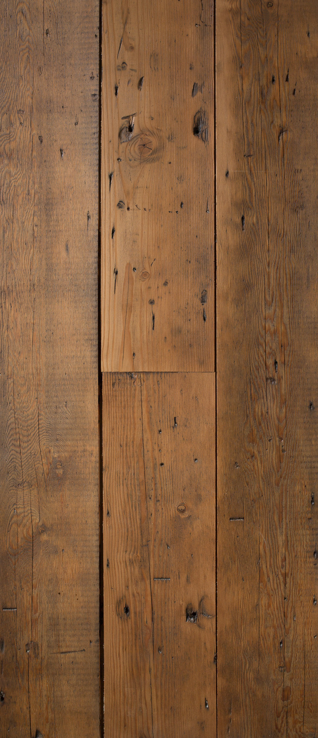 Reclaimed British Victorian Structural Pine Boards
