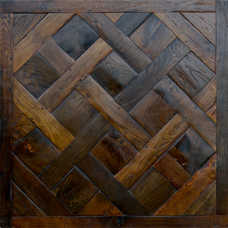 Antique Fr Oak Panel (1)