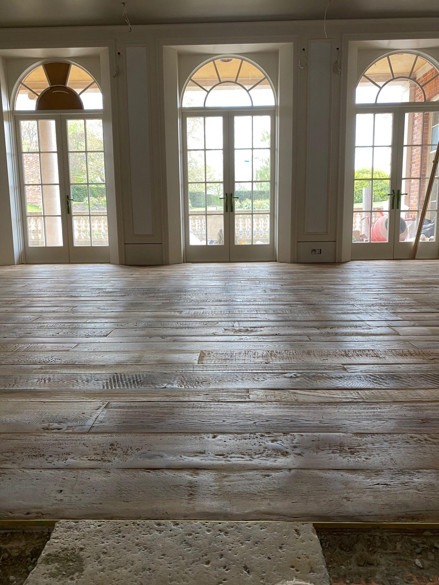 Our Antique Wood Flooring