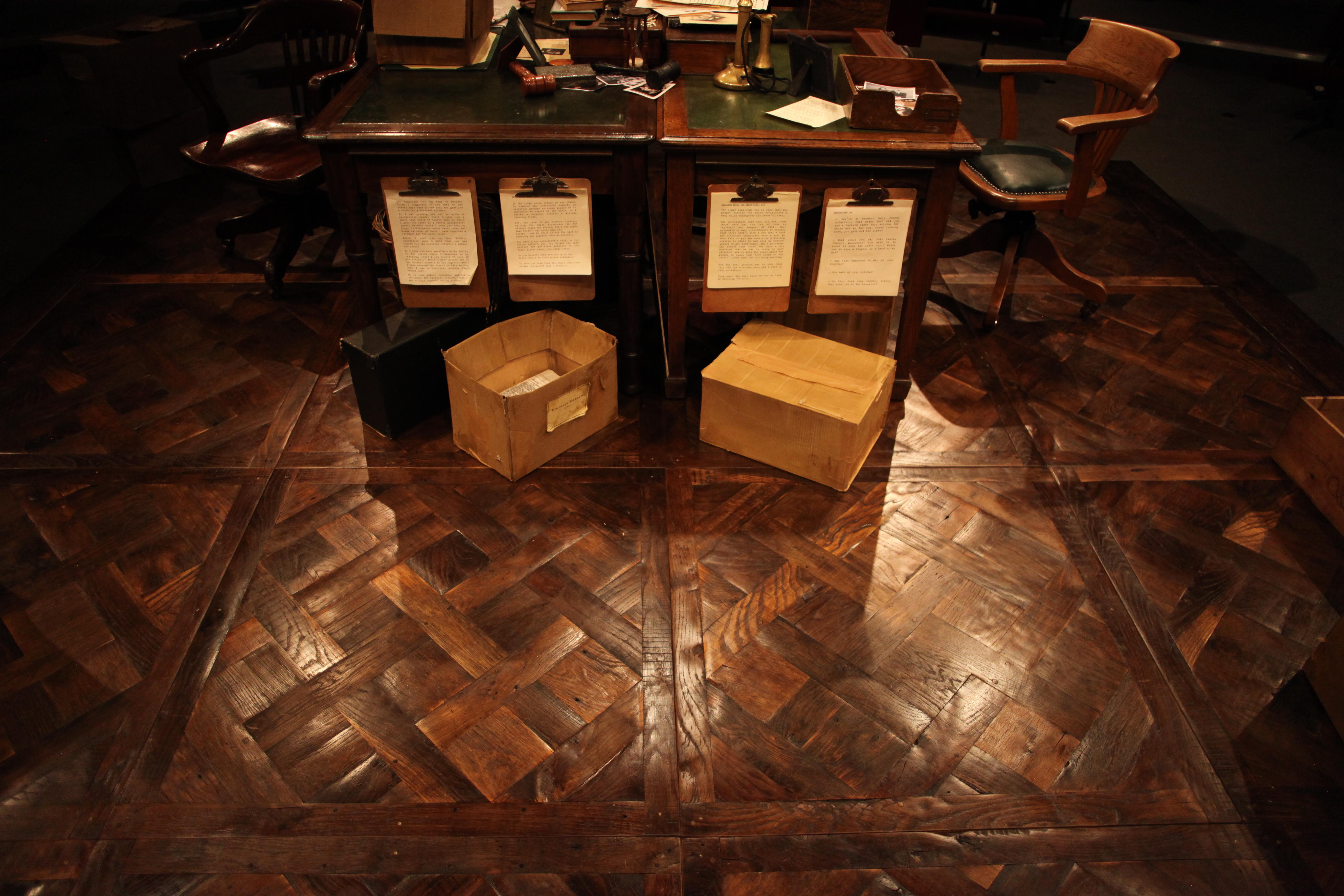 Antique & Reclaimed Geometric Floor Panels