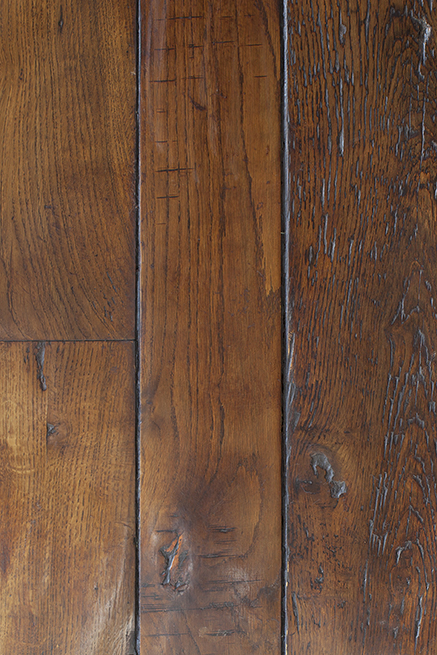 Reclaimed French antique oak Floorboards
