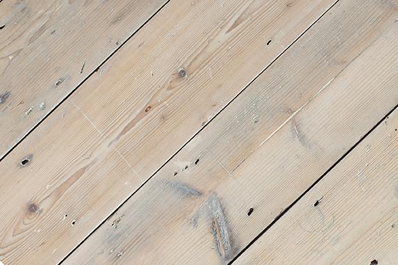 White Victorian Pine Floor boards