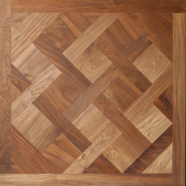 Engineered American Black Walnut Versailles Panel