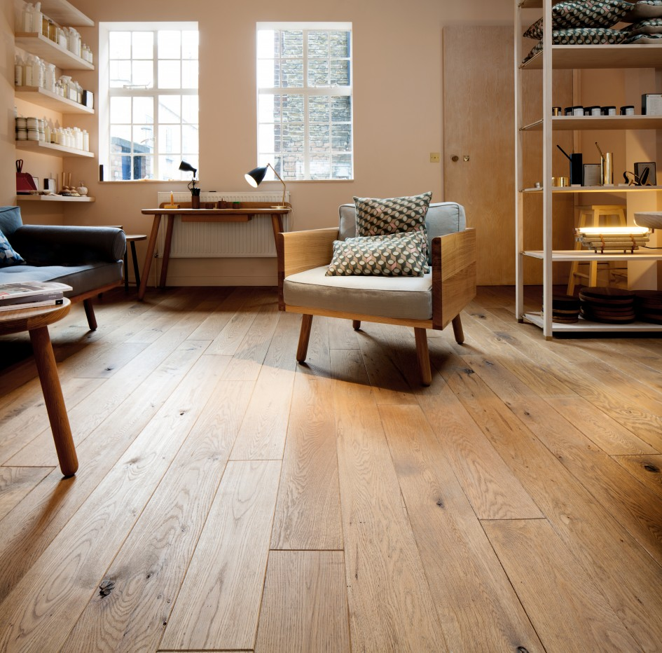 Natural White Wood Floor