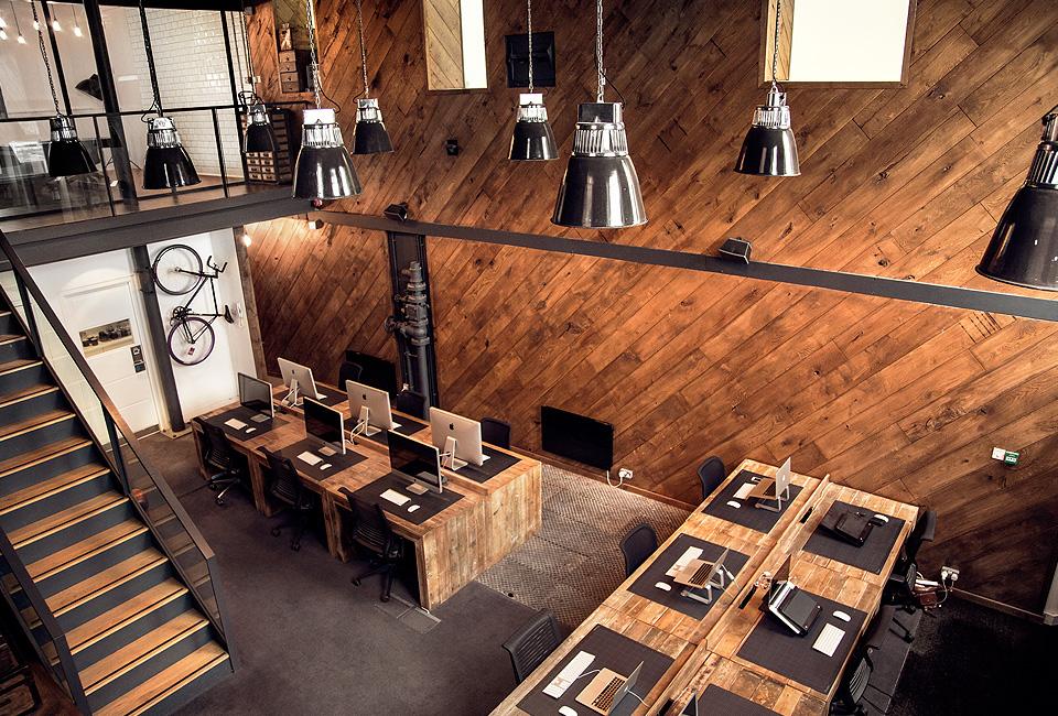 Office Real Oak Solid Wood Floor