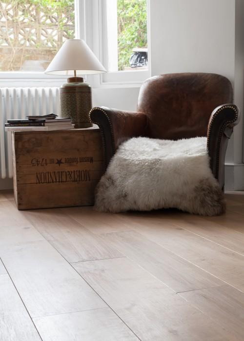 Grey Oak Wooden Floor