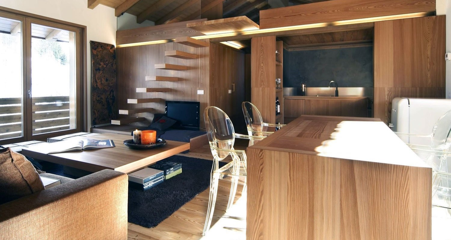 Interior Decor Ideas that use wood as the primary element