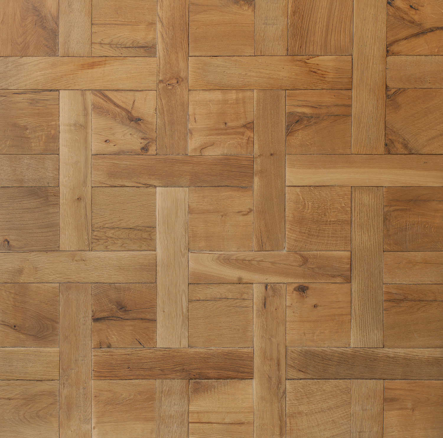 Reclaimed Mid Century French Oak: Continuous Versailles