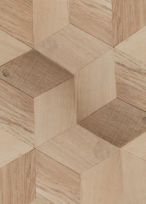 wood tile hexagon