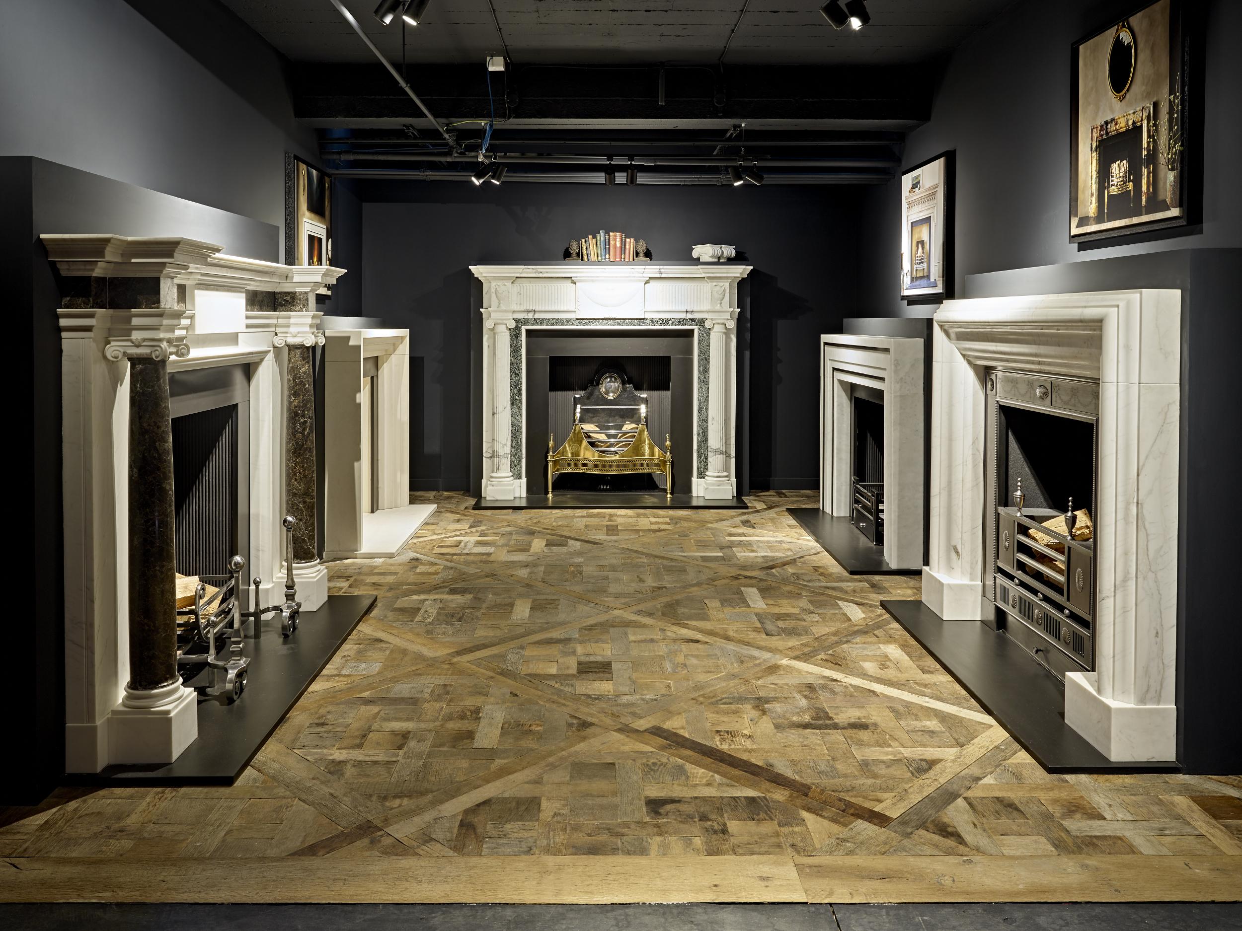 Resawn Reclaimed Heritage Oak Versailles Panel