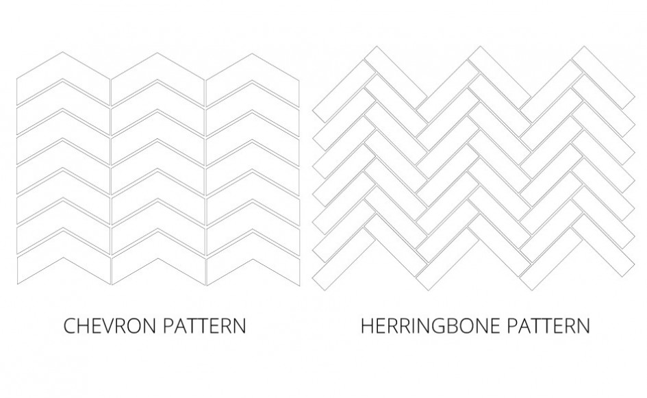 Shapes Chevron Herringbone