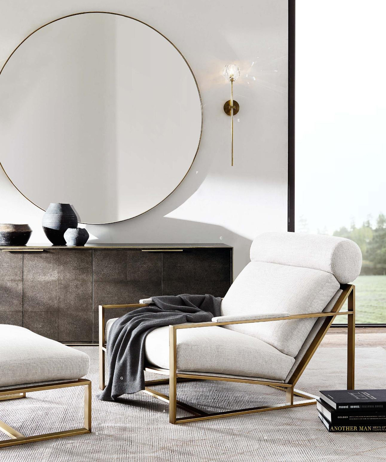 Mirrors as Accent Pieces