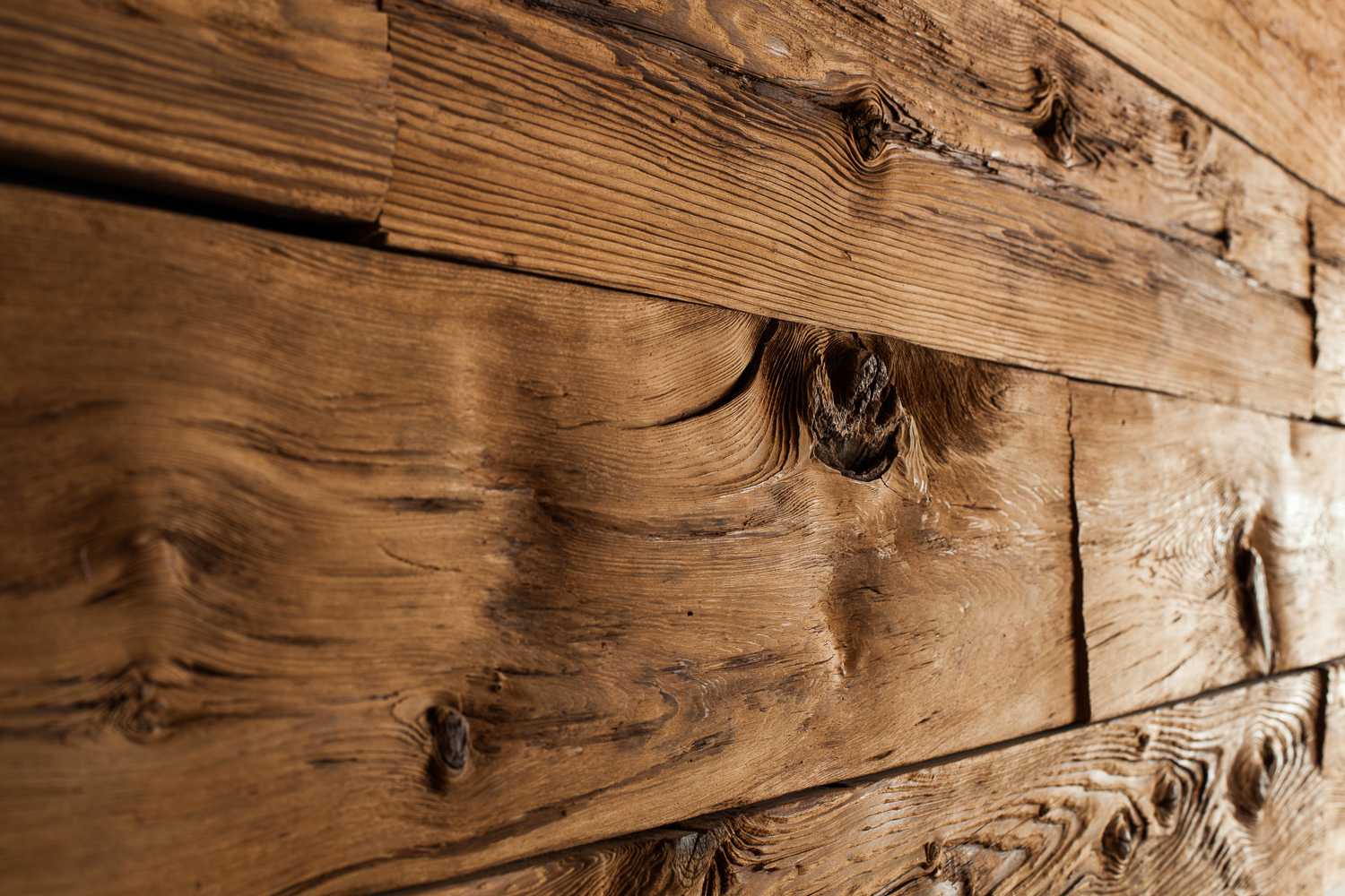 Our Reclaimed Oak Wall Cladding