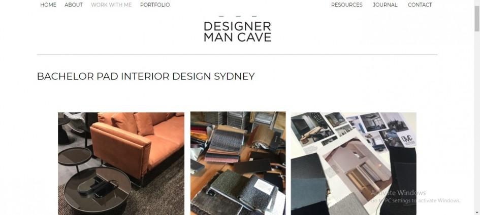 Designer Man Cave