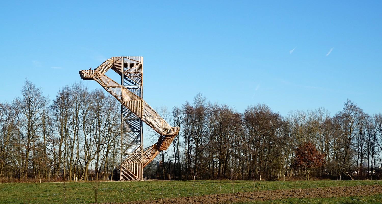 De Onlanden Observation Tower by Ateliereen Architecten