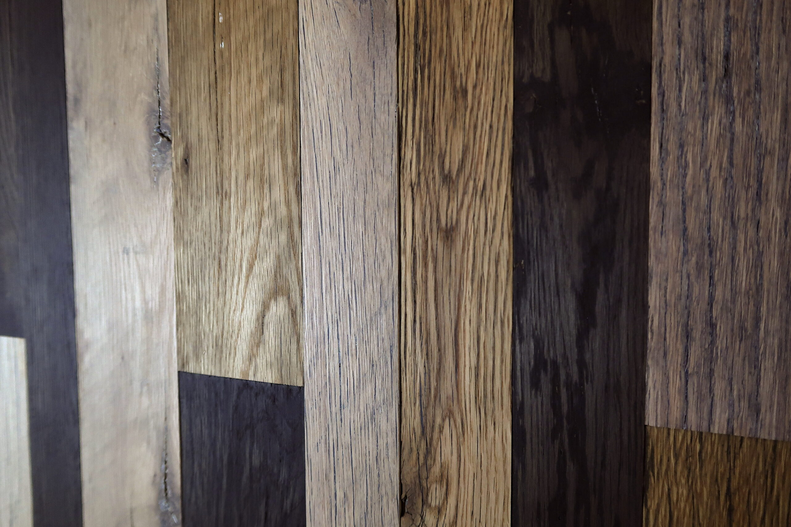 Reclaimed Engineered American Strip Oak – Multicolour