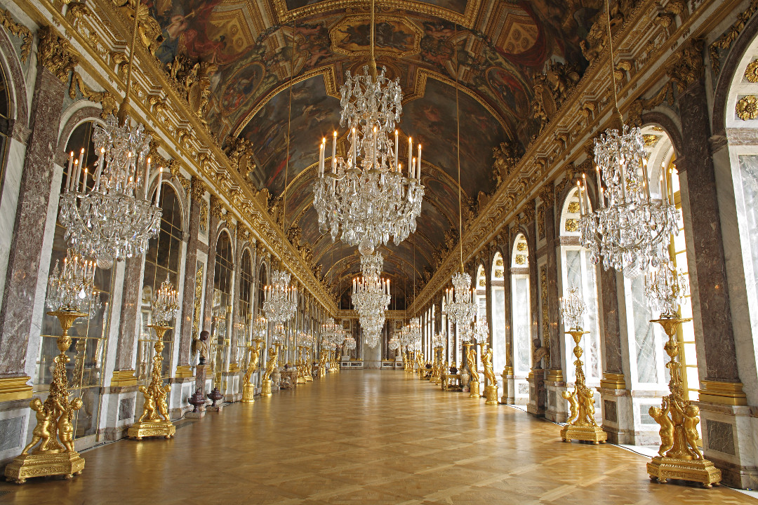 The Parquet de Versailles in the Hall of Mirrors, Versailles Place