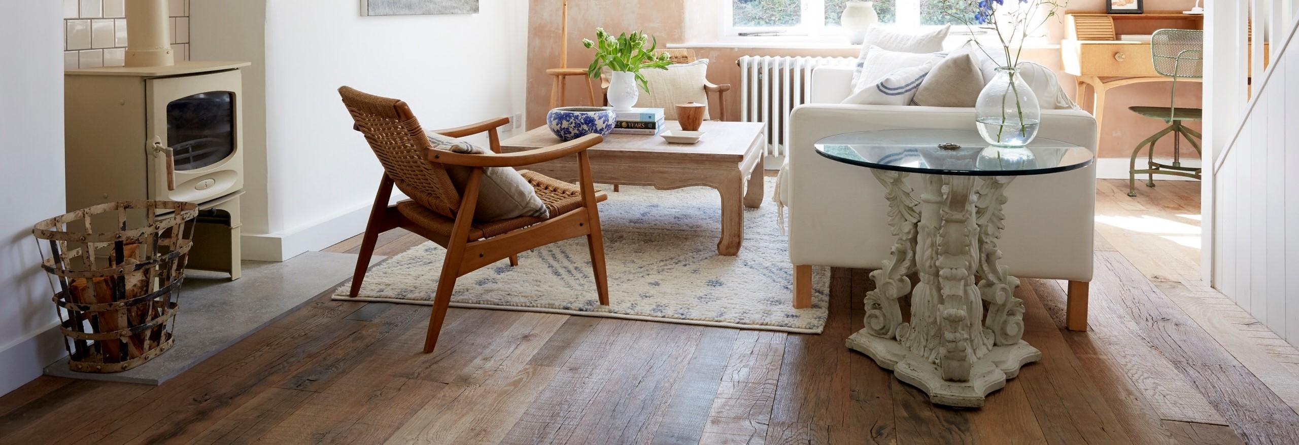House of a Designer – Reclaimed Engineered Estate Oak